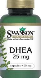 Swanson Vitamins - DHEA 25 mg 120 Capsules
