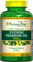Puritan's Pride Evening Primrose Oil 1000 mg with GLA