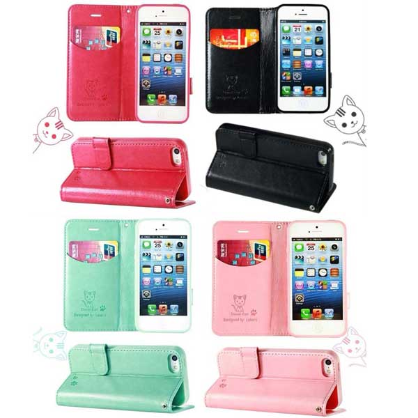 Flip case Domicat for iphone 5/5S
