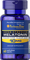 Puritan's Pride - Melatonin 10 mg 60 Capsules