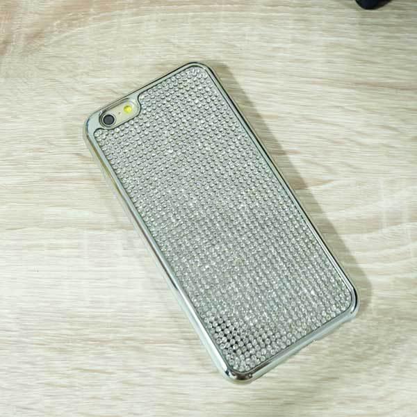 เคสไอโฟน 5/5s/SE เพชรนิ่มเงิน