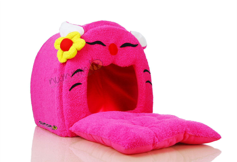 โดมแมวสีชมพู