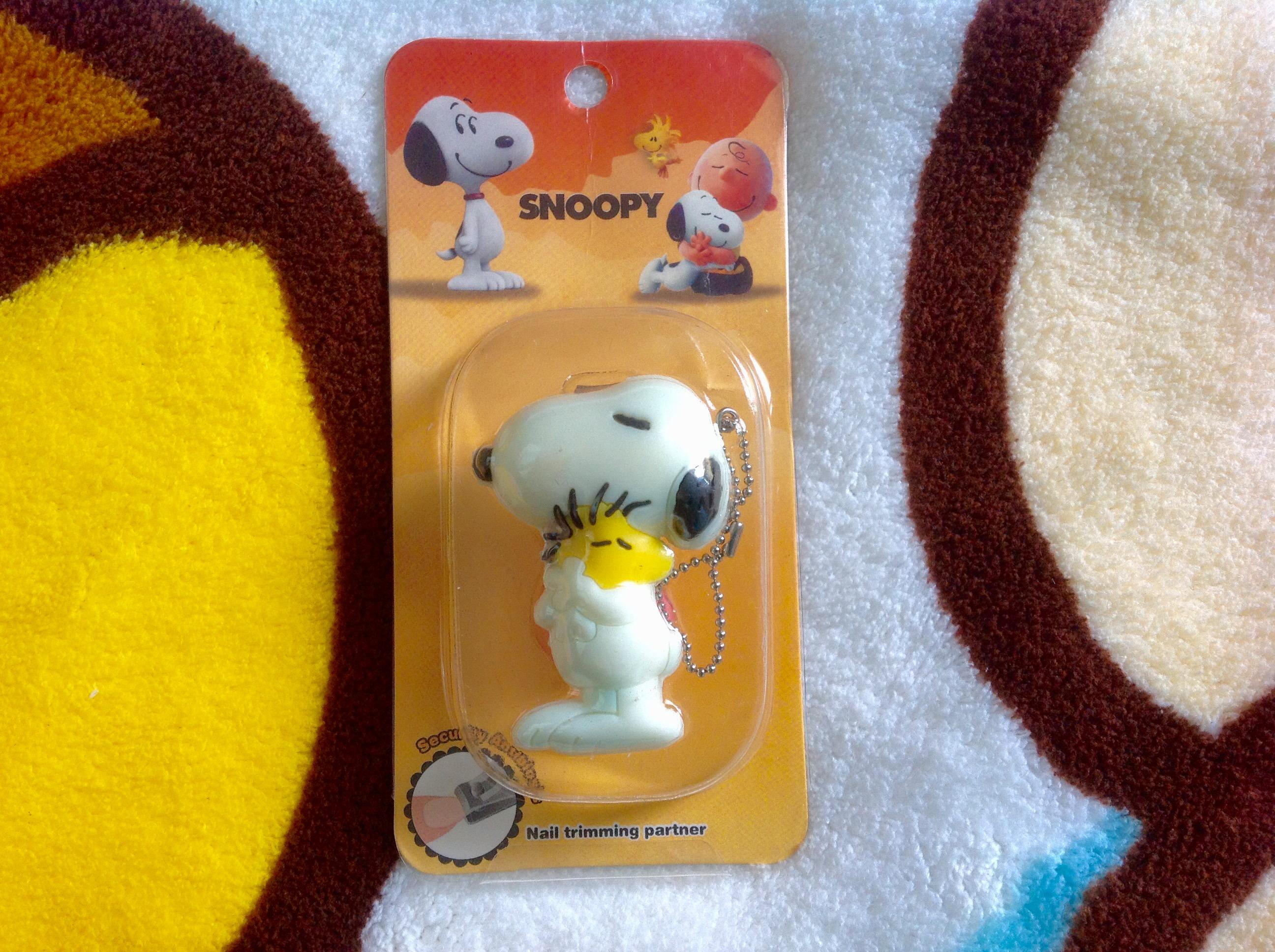 กรรไกรตัดเล็บ Snoopy