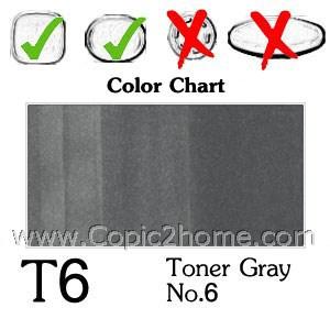 T6 - Toner Gray No.6