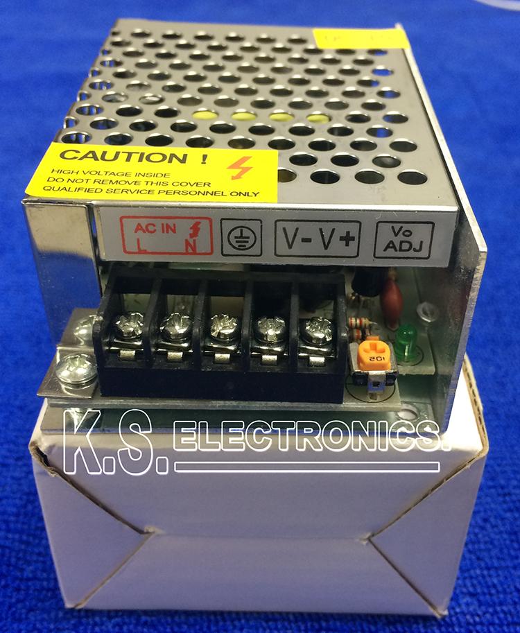 แหล่งจ่ายไฟสวิตชิ่ง Output 12V 2A