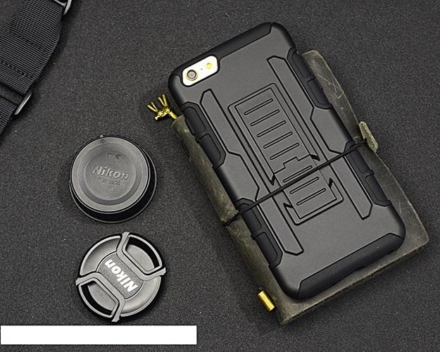 (002-151)เคสมือถือไอโฟน Case iPhone 7 Plus เคสสไตล์แอดเวนเจอร์กันกระแทกแบบพกพาเหน็บเอว