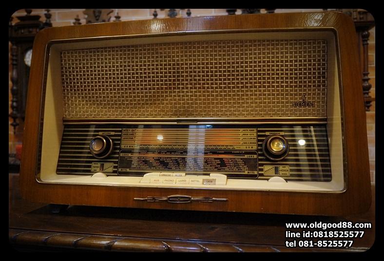 วิทยุหลอด Siemens; D S.&: Standardsuper E9 ปี1959 รหัส12460se