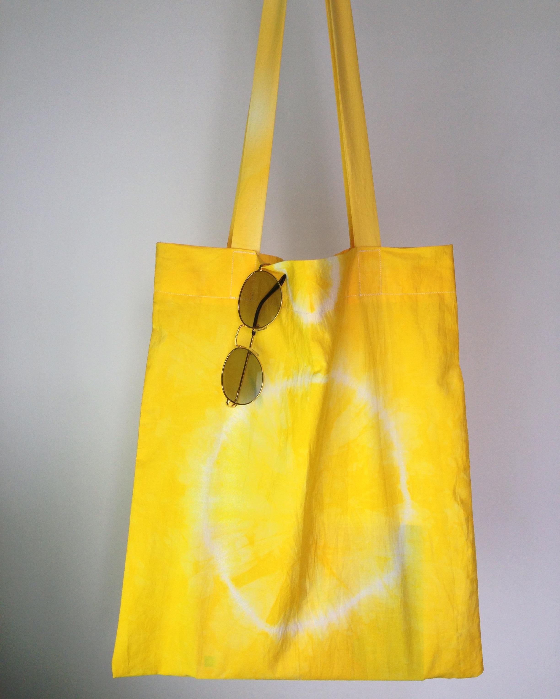 กระเป๋าผ้าฝ้ายมัดย้อม 001