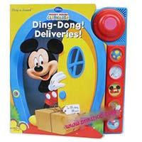 หนังสือนิทาน บอร์ดบุ๊ค กดมีเสียงเพลง ของดิสนีย์ เรื่อง Mickey Mouse Ding Dong Delivery