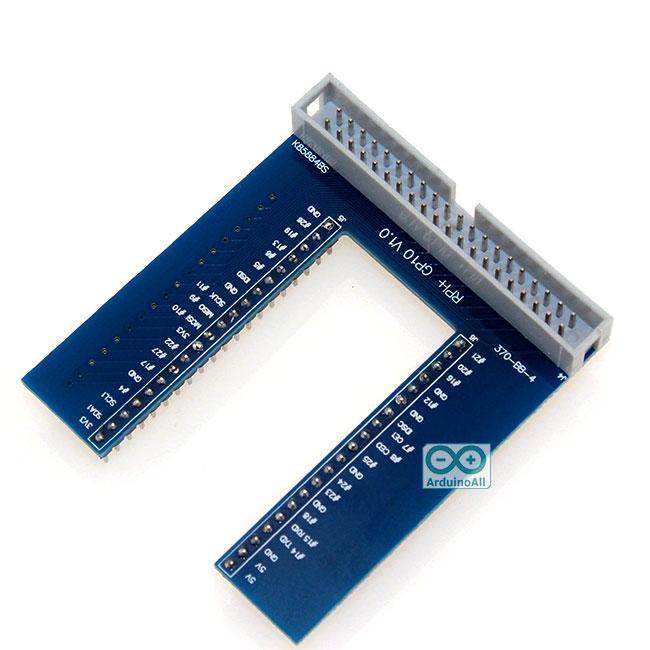 Raspberry Pi 2/3 GPIO U-shaped adapter board V2