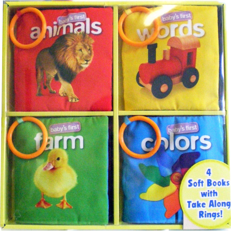 set หนังสือผ้า soft play 1 set มี 4 เล่ม