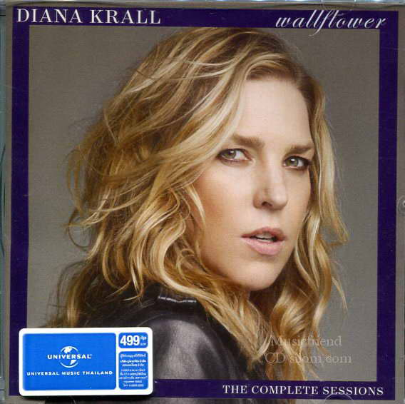 CD,Diana Krall - Wallflower the complete sessions(Super Deluxe Edition)2015