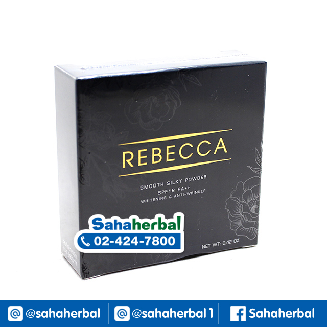 Rebecca Smooth Silky Powder แป้ง รีเบคก้า SALE 60-80% ฟรีของแถมทุกรายการ