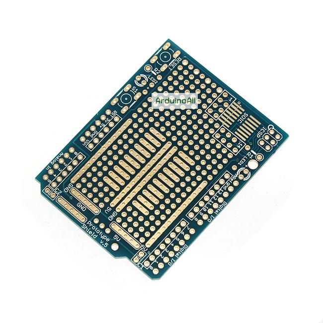 แผ่น PCB Prototype Arduion Uno Shield PCB อเนกประสงค์
