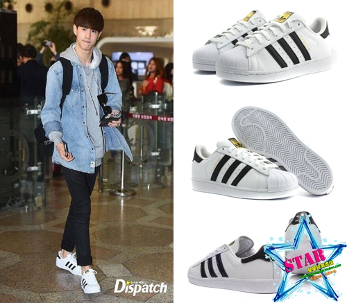 Adidas superstar Sty.GOT7 MARK