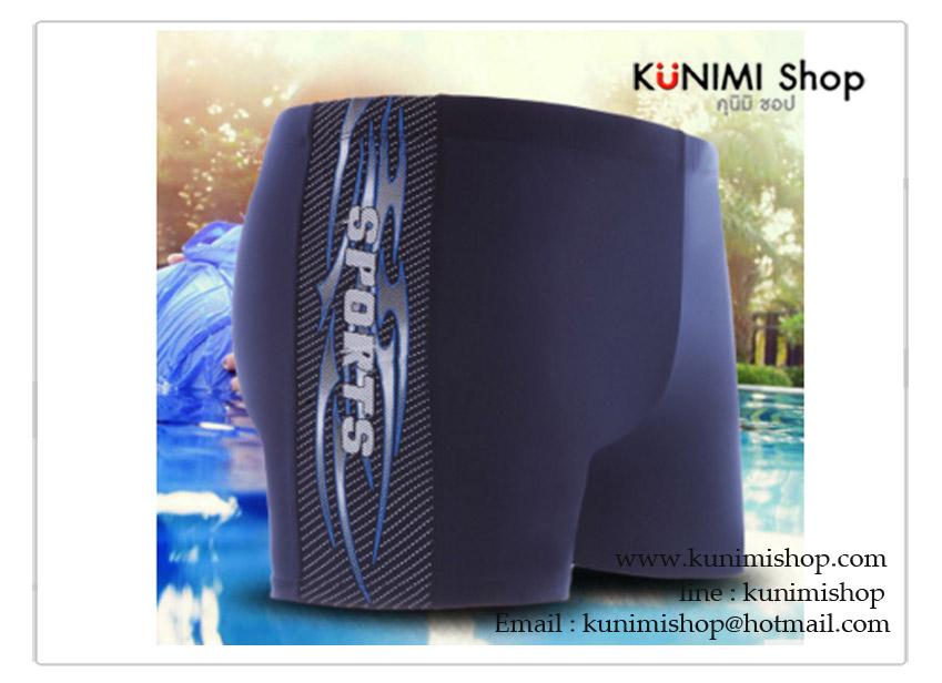 กางเกงขาสั้นว่ายน้ำผุู้ชาย สีดำ ลายสีแดง เอวยางยืด มีเชือกผูกเอว ผ้า : ผ้ายืด ไนล่อน + Spandex ขนาด : Size XL = ขยายได้ไม่เกิน เอว 33-35 นิ้ว / กางเกงยาว 30 cm. Size XXL = ขยายได้ไม่เกิน เอว 36-38 นิ้ว / กางเกงยาว 30 cm.
