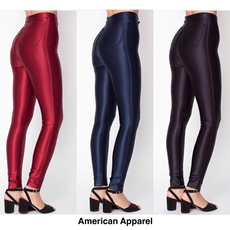 หมดค่ะ:Disco pants American Apparel กางเกงดิสโก้สุดฮิต ทรงสวยมากนะคะ ผ้าเป๊ะสุดๆ สาวที่ชอบกางเกงดิสโก้แนะนำเลยค่ะ งานติดป้ายค่ะ