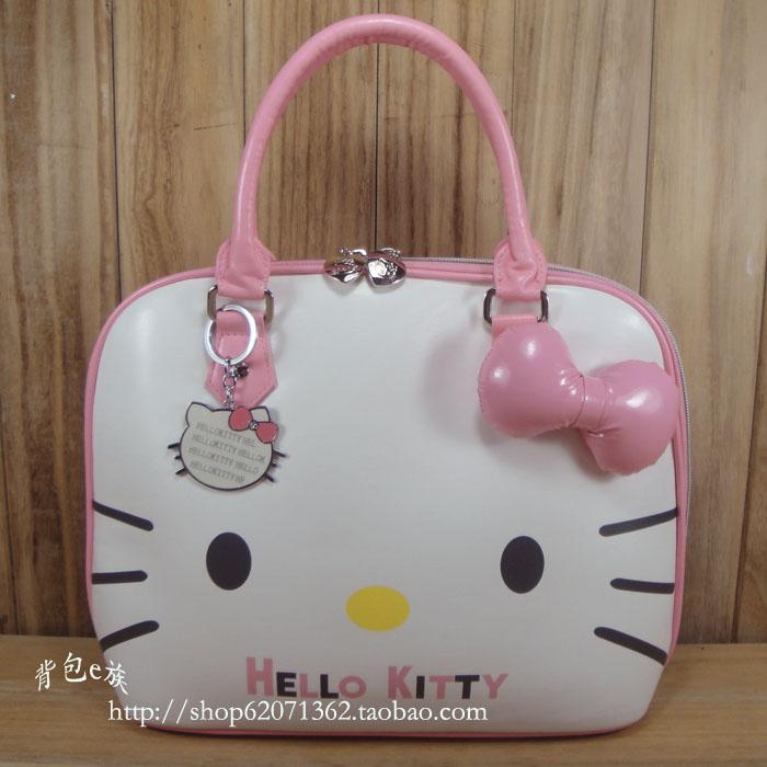 กระเป๋าคิตตี้โบว์กระเป๋าใหม่สายเดียวกระเป๋าสตรีเวอร์ชั่นเกาหลี