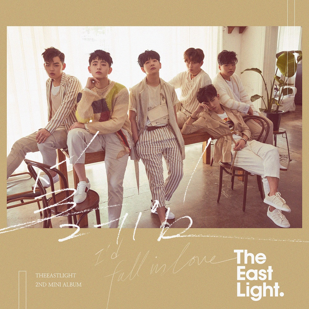[Pre] TheEastLight : 2nd Mini Album - Love Flutters +Poster