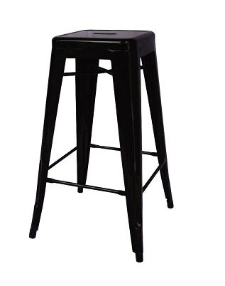 เก้าอี้สตูลบาร์เหล็ก สไตล์โมเดิร์น สำหรับร้านกาแฟ ร้านอาหาร