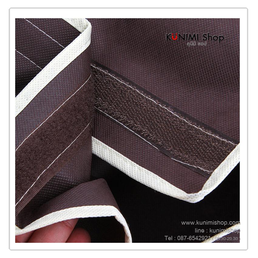 ถุงคลุมเสื้อผ้า เสื้อสูท ชุดราตรี เพื่อป้องกันฝุ่น กันเปื้อน สามารถคลุมเสื้อผ้าที่แขวนไว้ ได้ทีละหลายตัว มีช่องใสเพื่อดูเสื้อผ้าด้านใน มีซิปรูดด้านข้างสามารถหยิบใช้งานได้สะดวกคล่องตัว มี 3 ขนาด และเมื่อไม่ใช้งานก็สามารถพับเก็บได้ครับ ไม่เปลื่องพื้นที่ในการจัดเก็บ มี 3 ขนาด 1. ขนาด Size80 : 25 x 59 x 88 cm 2. ขนาด Size90 : 25 x 59 x 98 cm 3. ขนาด Size110 : 25 x 59 x 118 cm