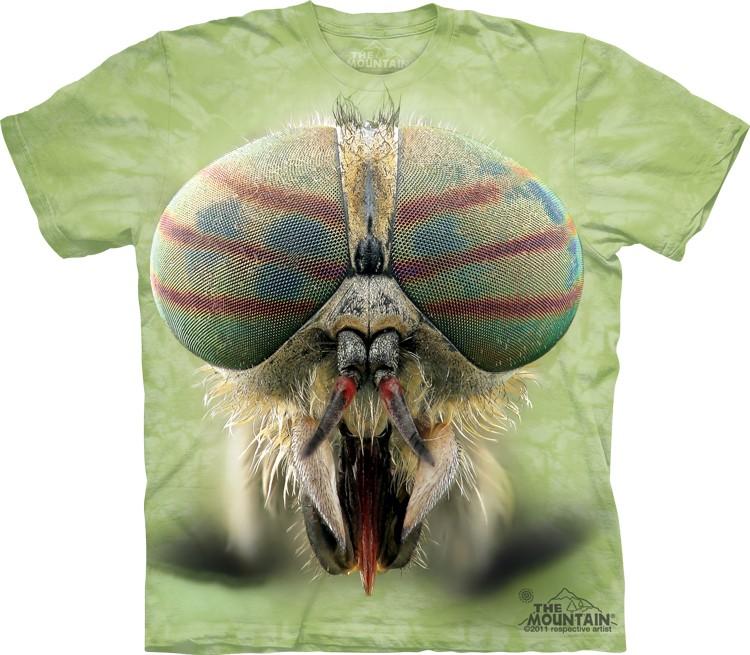 Pre.เสื้อยืดพิมพ์ลาย3D The Mountain T-shirt : Horse Fly