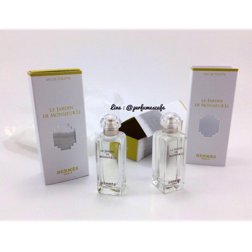 กลิ่นใหม่ค่ะ Le Jardin De Monsieur Li EDT จาก Hermes ขนาด 7.5 ml. (แบบแต้ม)
