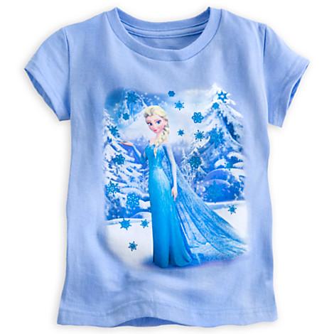 z Tee Elsa Snowflake for Girls (Size4)