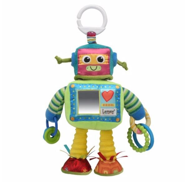 ตุ๊กตา ของเล่นผ้า ของเล่นเสริมพัฒนาการ Lamaze Rusty the Robot ของแท้