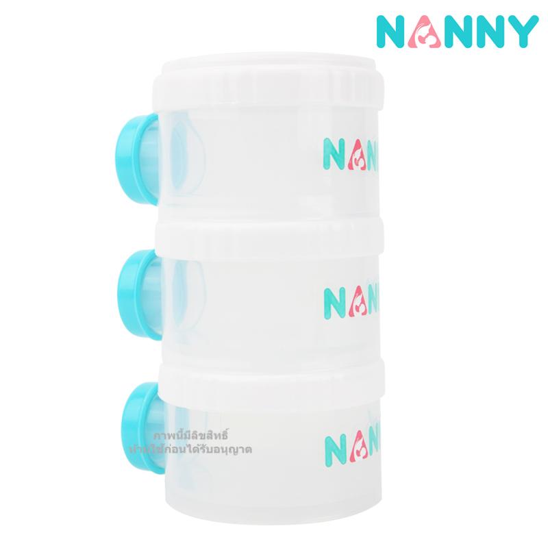 ชั้นแบ่งนมผง 3 ช่อง Nanny