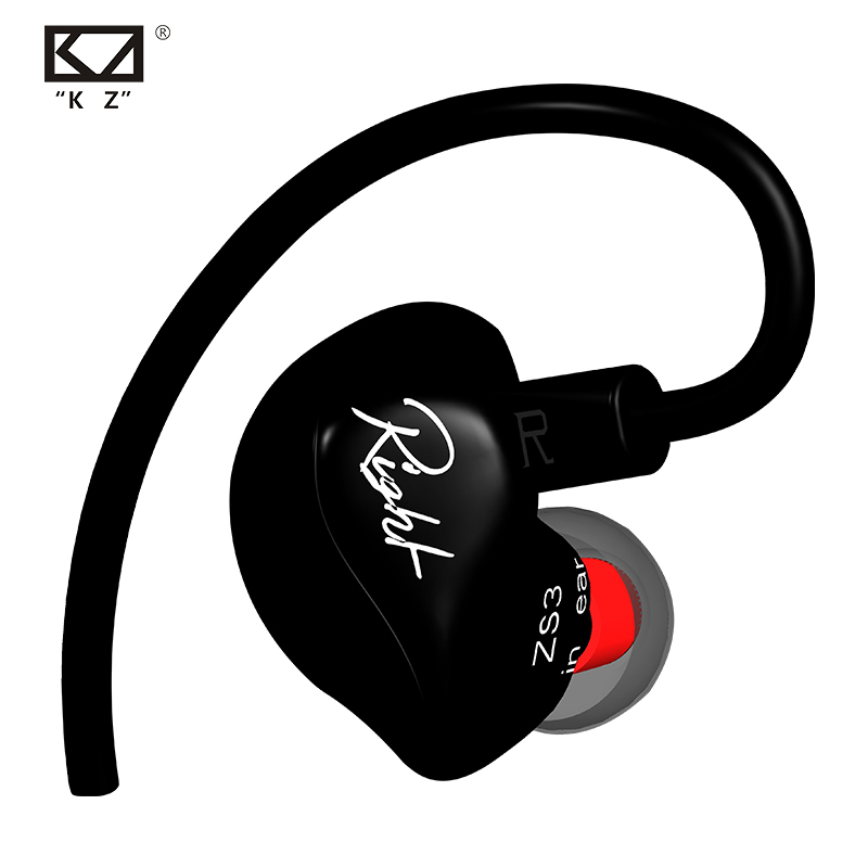 KZ ZS3 หูฟังแบบมอนิเตอร์ พลังเบส IEM Bass Power ถอดสายได้