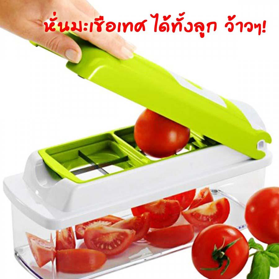 Cutter plus (มีคลิป) หรือ NICER DICER PLUS ชุดเครื่องเตรียมอาหาร ที่หั่นผัก หั่นผลไม้ หั่นง่ายได้เร็ว
