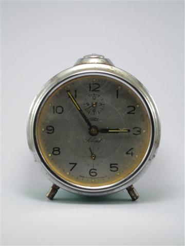 U769 นาฬิกาปลูกโบราณ Prim Silent เดินดีปลุกดี ส่ง EMS ฟรี