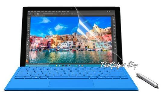 (พร้อมส่ง) ฟิล์มกันรอย Microsoft Surface PRO 4 แบบด้าน ตรงรุ่น