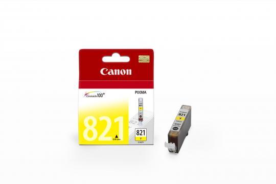 Canon CLI-821Y ตลับหมึกอิงค์เจ็ท สีเหลือง Yellow Original Ink
