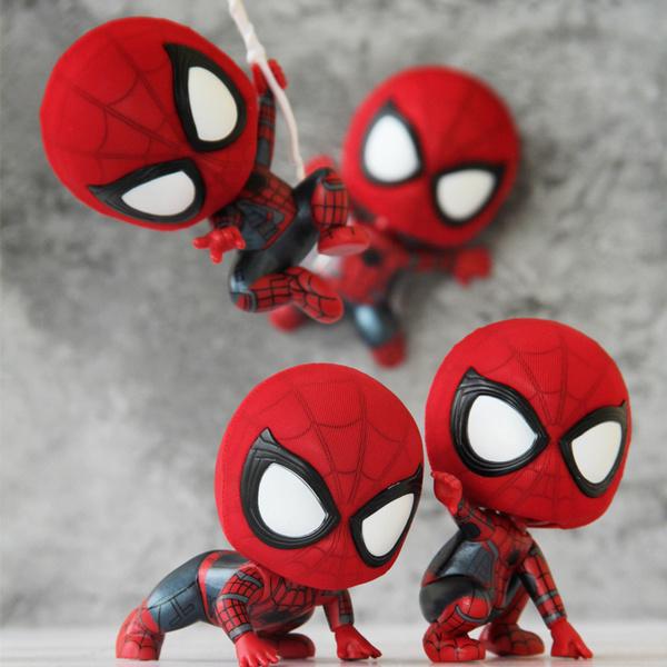 โมเดลติดรถยนต์ Spiderman Figure (มีให้เลือก 8 แบบ)