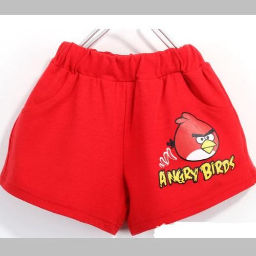 กางเกงขาสั้น-สีแดง