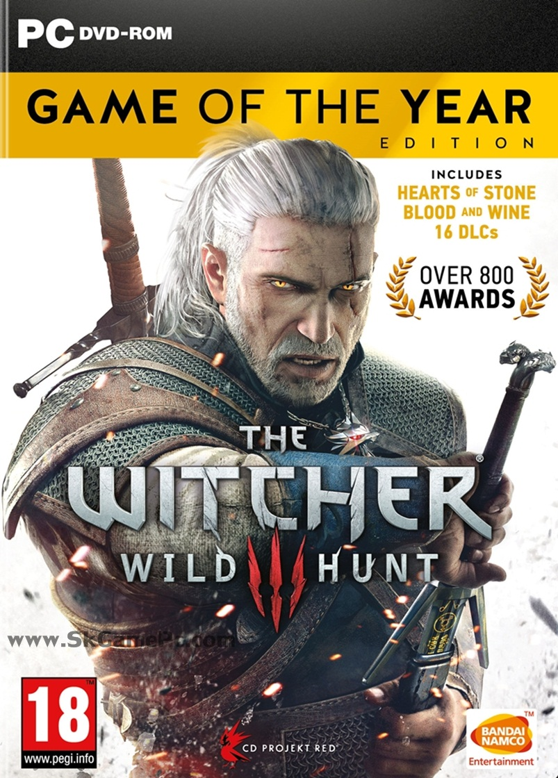 The Witcher 3 Wild Hunt Game of the Year Edition ( 11 DVD )