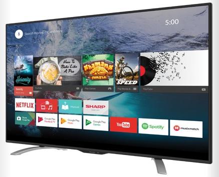 "New 2017 LED TV 50"" FHD Android TV SHARP รุ่น LC-50LE580X ใหม่ประกันศูนย์ โทร 097-2108092, 02-8825619"