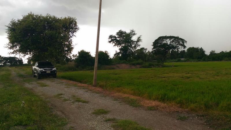H771 ขายที่ดินเปล่า เนื้อที่ 4ไร่ 40 ตร.วา อยู่ห่างจากถนนสาย340 บางบัวทอง-สุพรรณบุรี เพียง 150 เมตร ใกล้โรงพยาบาลบางซ้าย