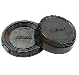 Lens Cap Nikon Body and Rear Lens Cap