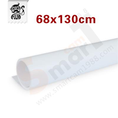 แผ่น PVC Background 68x130 cm สีขาว