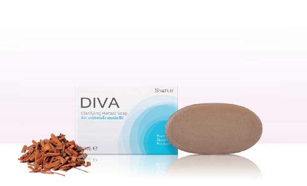 Diva Clarifying Herbal Soap