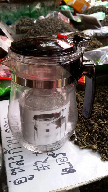 แก้วชงชา แบบสำเร็จรูป มีที่กรองในตัว 500 ML. จำนวน 3 ใบ