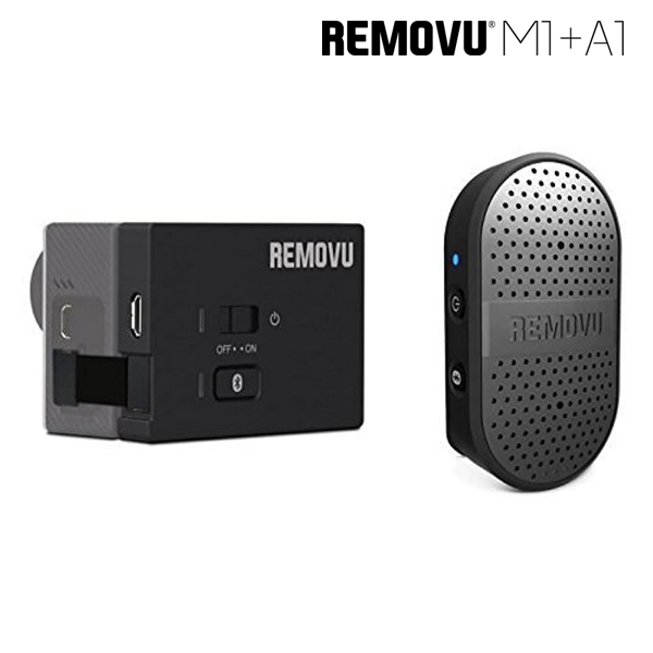 REMOVU M1+A1 Bluetooth Microphone for GoPro Hero 3/3+/ 4