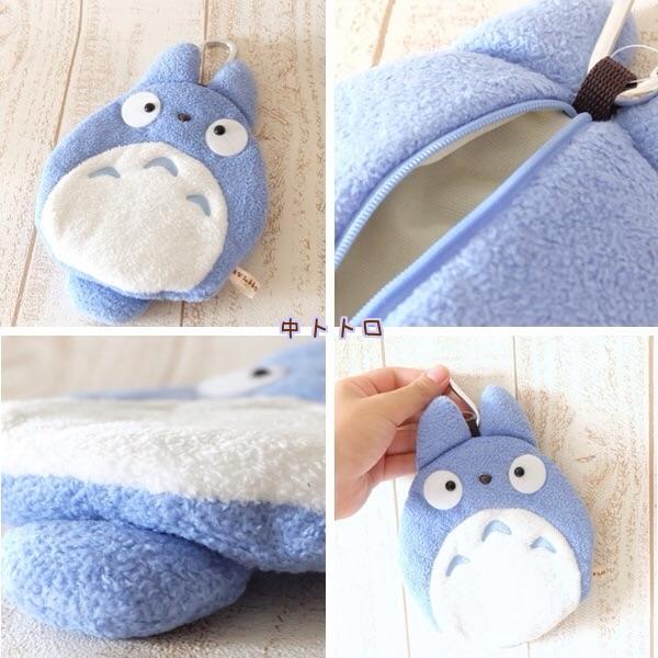 กระเป๋าสตางค์ My Neighbor Totoro (โตโตโร่สีฟ้า)
